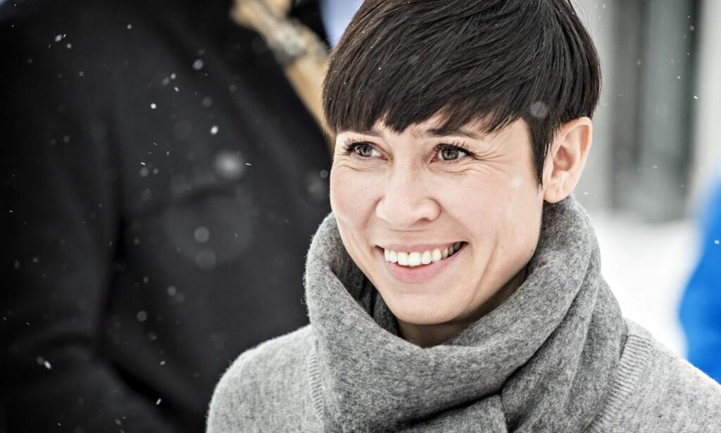 FORSVARSMINISTER: Ine Marie Eriksen Søreide har lagt fram en proposisjon som vil modernisere og styrke Hæren.