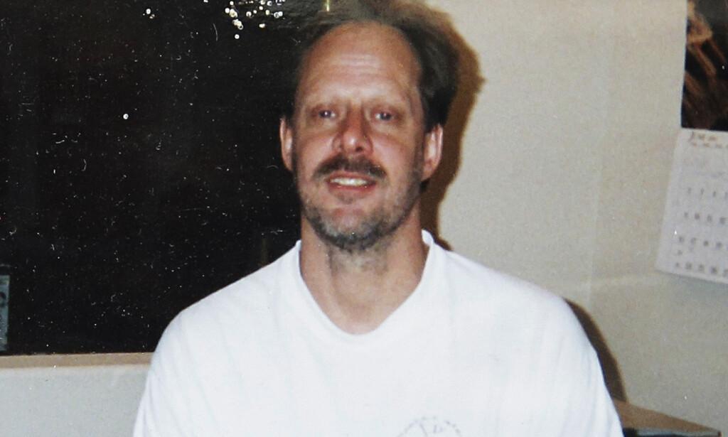 MASSEDRAPSMANN: Stephen Paddock skal ha forsøkt å skyte flybensintanker under massakren i Las Vegas. Foto: Eric Paddock via AP / NTB scanpix