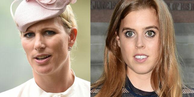 image: Begge er dronning Elizabeths barnebarn. Derfor er bare én av dem prinsesse