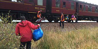 image: «Harry Potter»-toget reddet stormrammet familie