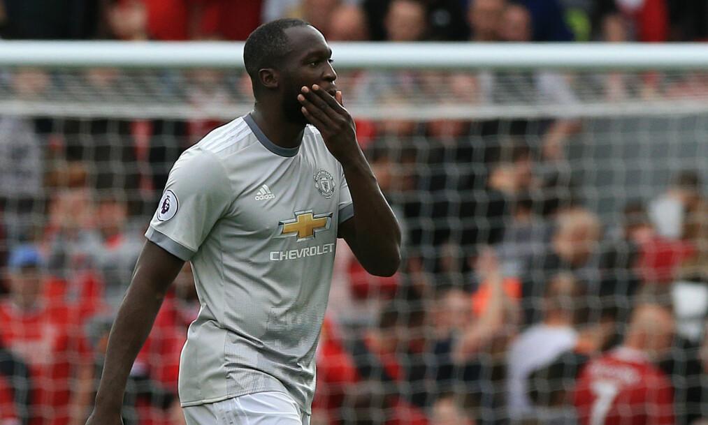 <strong>LITE INVOLVERT:</strong> Manchester Uniteds Romelu Lukaku var bare borti ballen 22 ganger mot Liverpool. Foto: NTB Scanpix