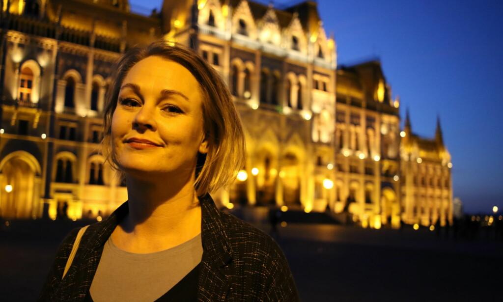 UFORSTÅELIG: Marianne Melgård, psykologistudent i Budapest, synes at norske helsemyndigheters skepsis til ELTE-utdanningen er uforståelig. Foto: Maria Skarpaas Andersen