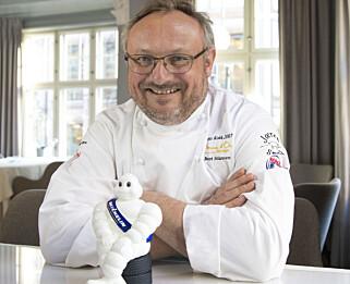 TRIVES MED STJERNEN: Bent Stiansen har hatt sin Michelinstjerne i over 20 år og beholder den gjerne.