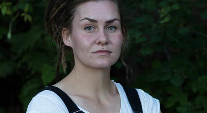 OPPGITT: Storbonde Camilla Cox Barfot. Foto: Alex Iversen/ TV 2
