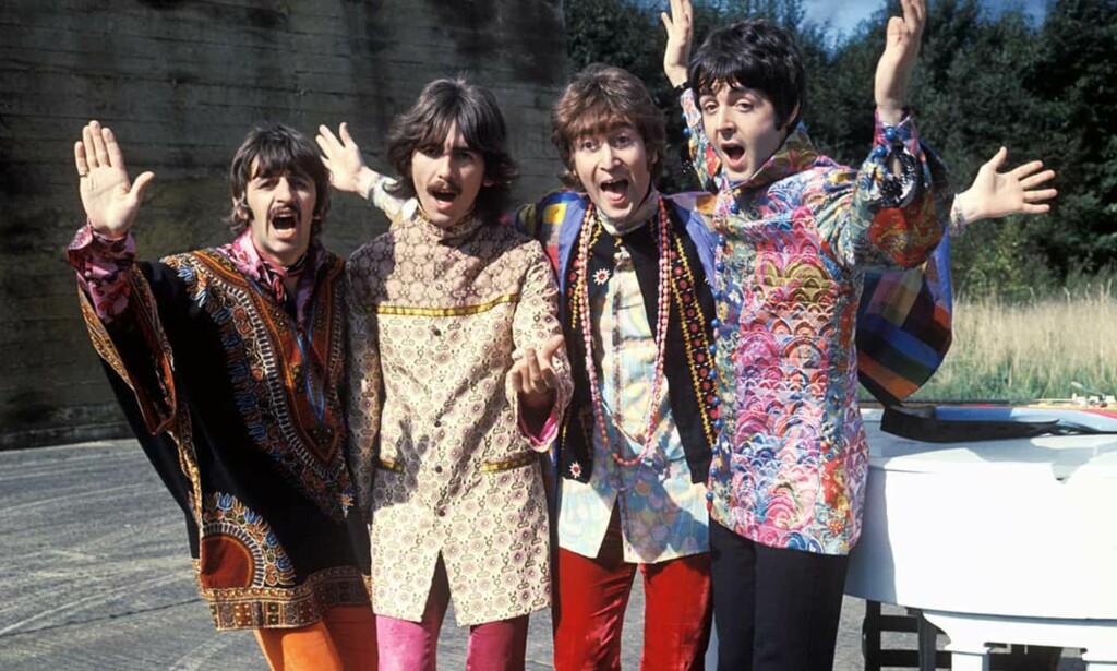 """MAGICAL MYSTERY TOUR: Det andre store Beatles-prosjektet fra 1967. Etter at """"Sgt. Pepper's Lonely Heart' Club Band"""" var på plass."""