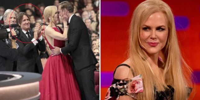 image: Nicole Kidman avslører historien bak det bisarre Emmy-kysset