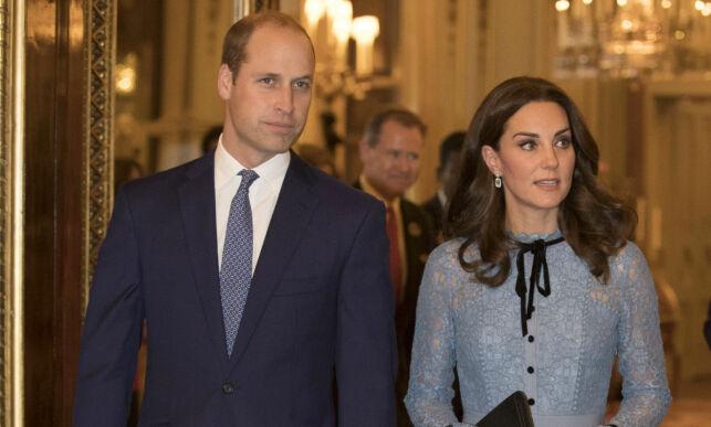 image: Prins William og hertuginne Kate til Norge