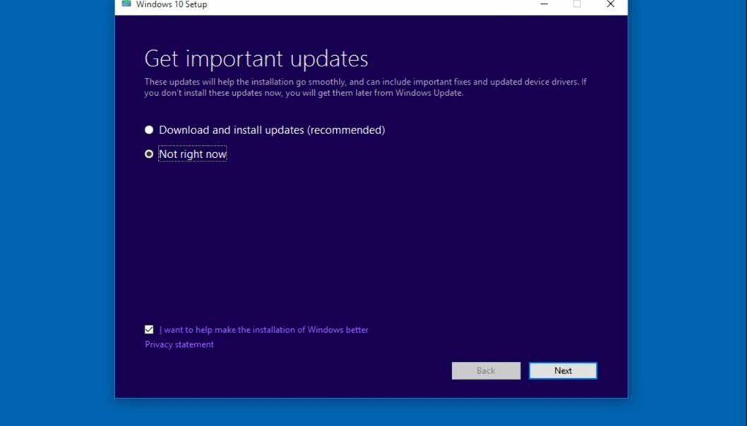 <strong>WINDOWS KLAR:</strong> Microsoft oppdaterte allerede 10. oktober. Apple fulgte like etter. Foto: Microsoft