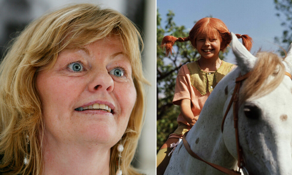 MEDALJENS BAKSIDE: Svenske Inger Nilsson gjorde seg kjent i både inn- og utland i rollen som Pippi Langstrømpe. Nå hevder skuespilleren at hun gjentatte ganger har opplevd uønsket oppmerksomhet fra andre i bransjen. Foto: NTB Scanpix