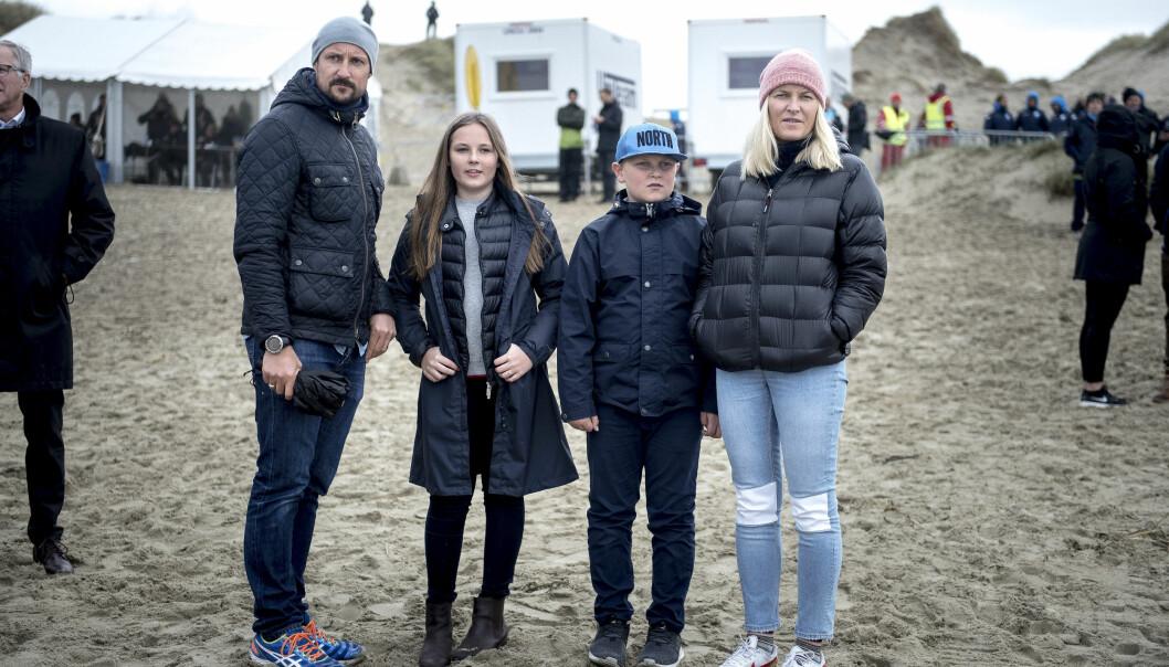 <strong>ENGELSK:</strong> Britiske Sadie jobbet for den norske kronprinsfamilien. Det hele begynte med at hun skulle lære kronprinsbarna flytende engelsk. Foto: NTB Scanpix