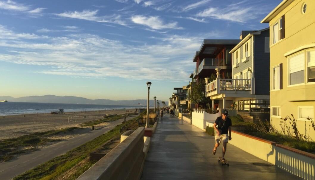 Los Angeles' deiligste strandpromenade