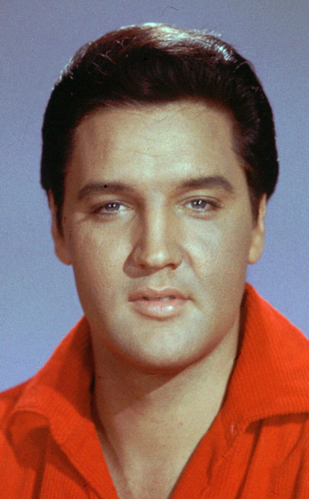 <strong>KJEKKAS:</strong> Det er ingen tvil om at Elvis Presleys fire barnebarn har arvet hans flotte trekk. Foto: NTB Scanpix