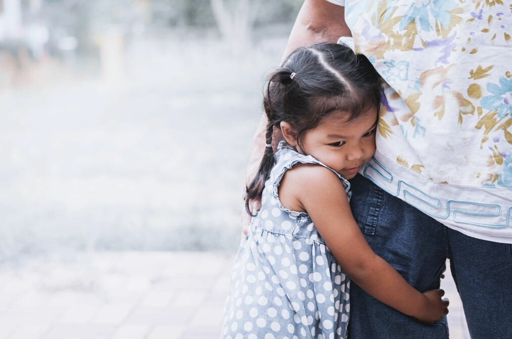 REDSEL HOS BARN: Det å ha perioder hvor man er redd for ulike ting er en helt normal del av alle barns oppvekst. Foto: A3pfamily/NTB Scanpix