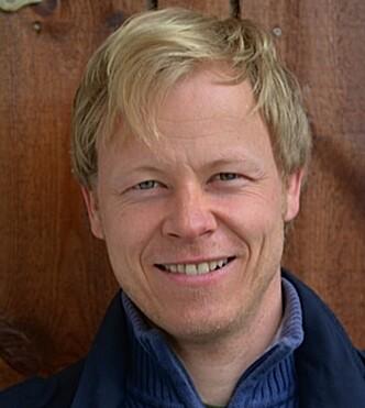 BARNS REDSLER: Heine Vihovde Vestvik har skrevet bok om de ulike redslene barn har. Foto: Privat