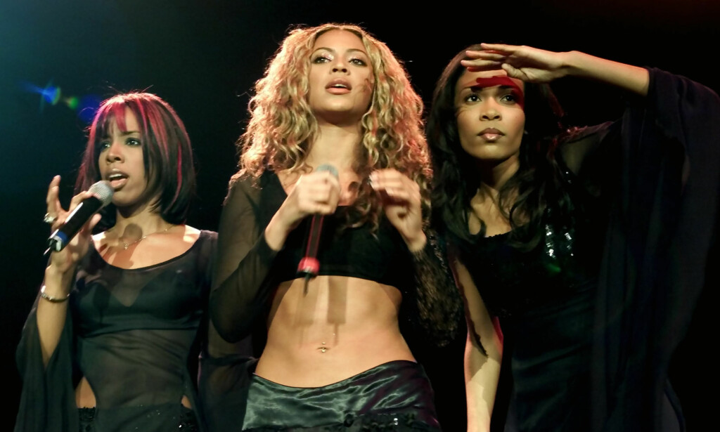 VERDENSSTJERNER: Kelly Rowland (t.v), Beyoncé Knowles og Michelle Williams erobret på 1990- og 2000-tallet verden med sin fengende pop og RnB. Et av medlemmene hadde det i denne perioden svært tungt. Foto: NTB scanpix