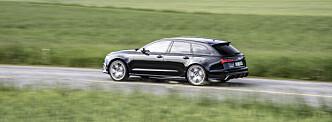 <strong>AUDI RS6 PERFORMANCE:</strong> En leken bil.