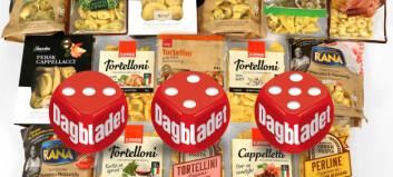 Test av fylt pasta: Ingen grunn til å velge de usunne når seks får superscore