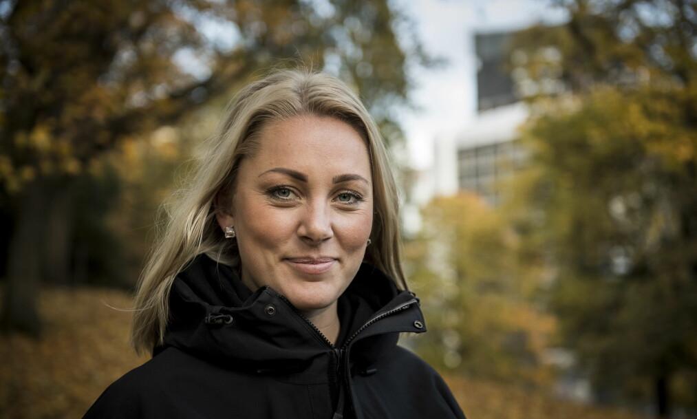 <strong>NYSGJERRIG:</strong> Karianne Amlie Wahlstrøm (26) kaller fitness-tida for et personlig forskningsprosjekt. «Farmen» er et annet. Foto: Lars Eivind Bones / Dagbladet