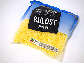 En grei ost å bruke rett fra posen.