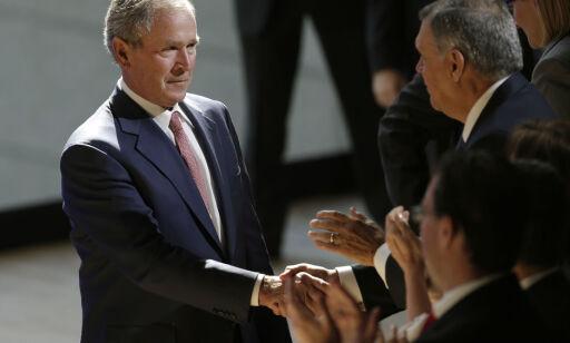 image: Bush slaktet Trump uten å nevne navnet hans