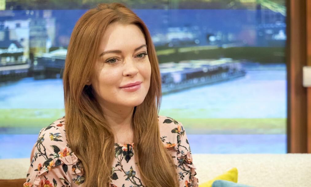 <strong>ÅPNER OPP:</strong> Lindsay Lohan fikk massiv kritikk etter å ha forsvart Harvey Weinstein etter de angivelige overgrepene han skal ha utført. Nå trekker hun fram sine egne anklager om overgrep. Foto: Ken McKay/ITV/REX/Shutterstock, NTB scanpix