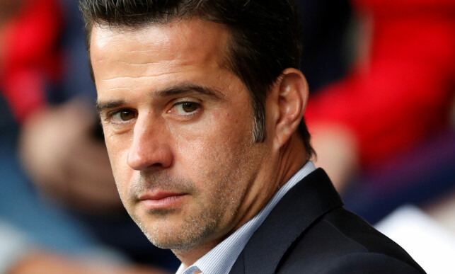 BLE IMPONERT: Watford-manager Marco Silva. Foto: Reuters/Andrew Boyers/NTB Scanpix