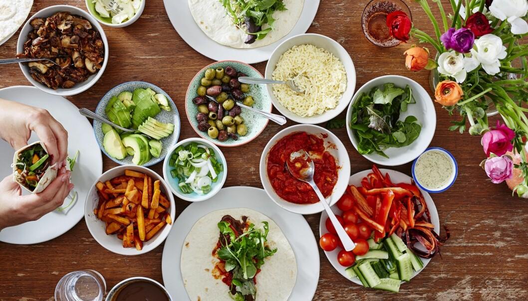MANGFOLD: Taco er mat som alle liker, og kanskje er det fordi vi taco gir oss friheten til å velge våre egne personlige favoritter. Foto: Scanpix.