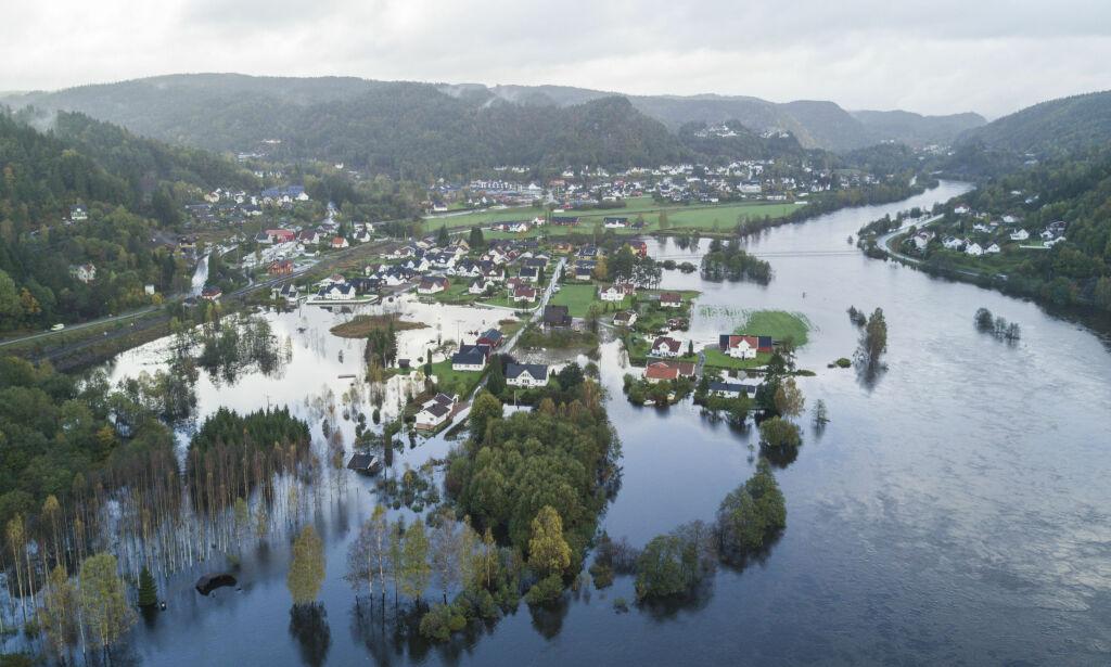 image: Politiet er ekstra på vakt etter varsel om ny flom på Sørlandet