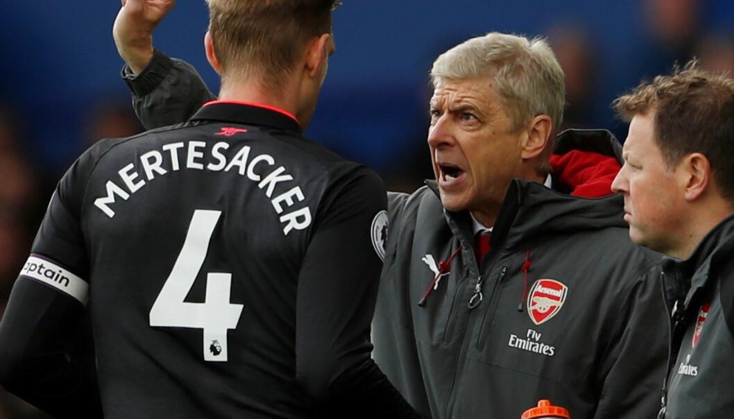 Wenger feiret bursdag med å sende Everton under streken