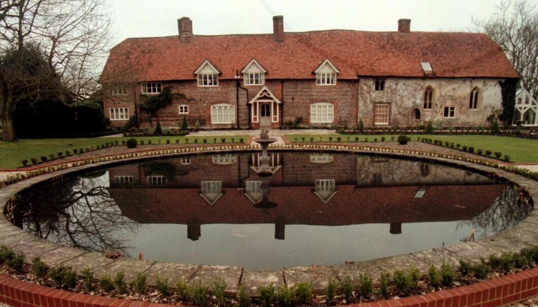 PRAKTEIENDOM: Stefan Persson kjøpte Park House i grevskapet Wiltshire i 1992. Godset ligger diskret tilbaketrukket fra landsbyen Ramsbury. Foto: Seamus Murphy/ NTB scanpix