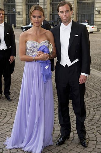 ROJALE GJESTER: Leonie og Karl-Johan Persson i bryllupet til kronprinsesse Victoria og prins Daniel i 2010. Foto: NTB scanpix