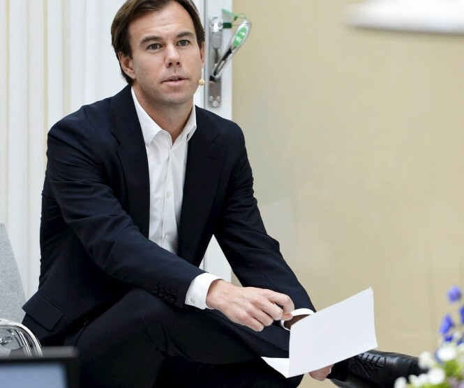 MEKTIG MANN: Selv om Karl-Johan Persson er administrerende direktør i H&M-konsernet, bedyrer han at han har en nøktern livsstil. Foto: NTB scanpix