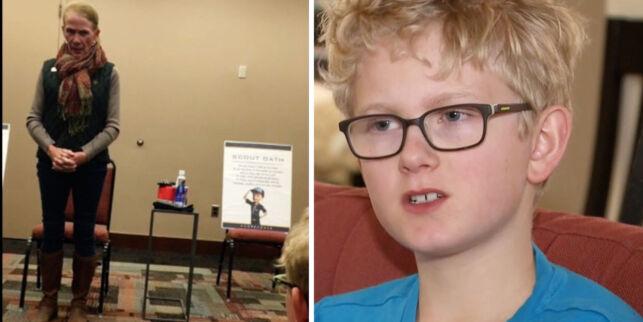 image: 11-åring kastet ut av speidergruppe etter å ha stilt kritiske spørsmål til senator