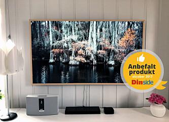 Så godt fungerer TV-en som ser ut som et bilde på veggen