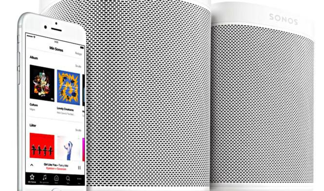 <strong>ALLSIDIG:</strong> Sonos-høyttalerne kan spille musikk fra mange ulike kilder. Foto: Sonos