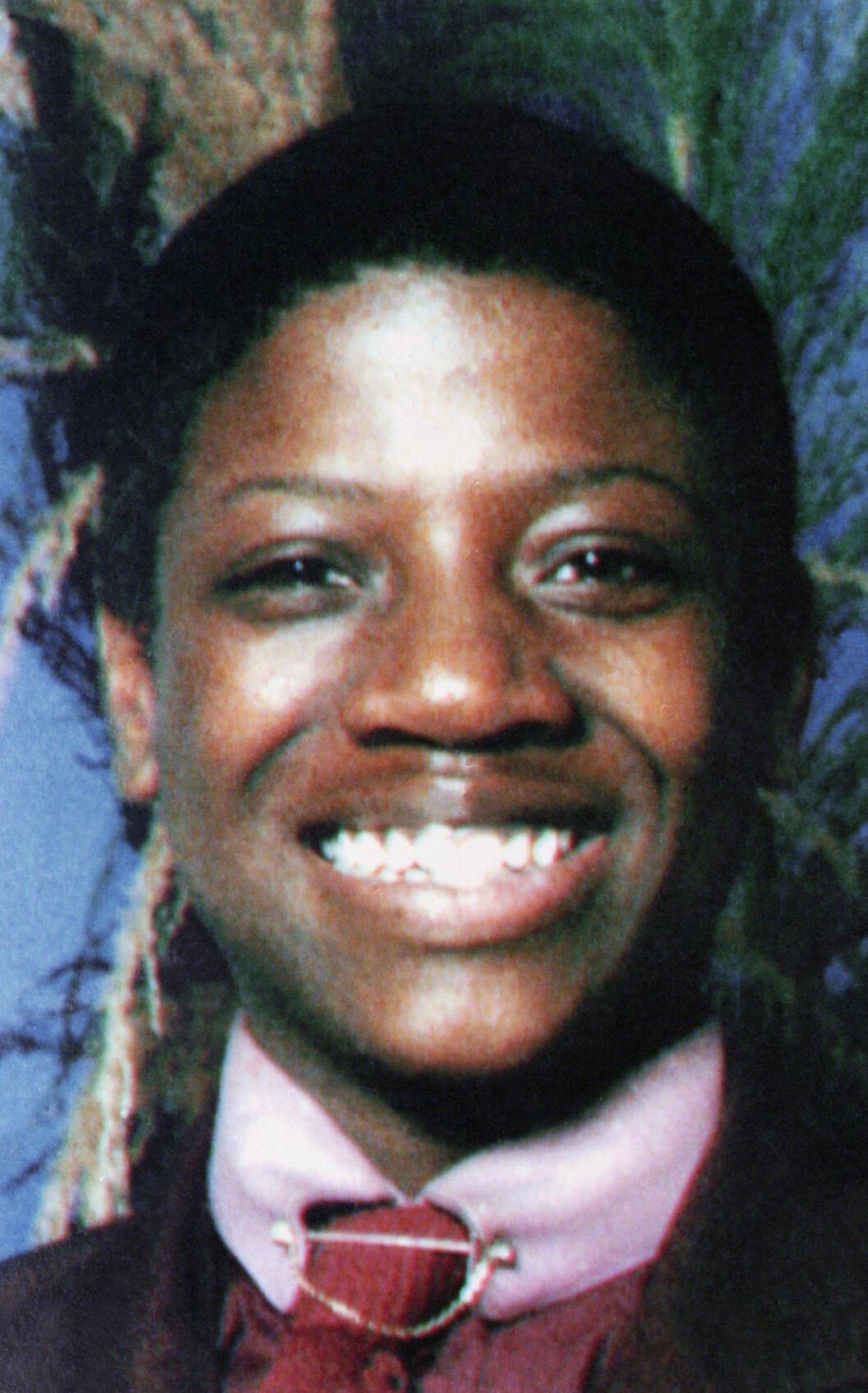 OFFER: Errol Lindsay ble bare 19 år. Han ble drept 7. april 1991. Foto: NTB Scanpix