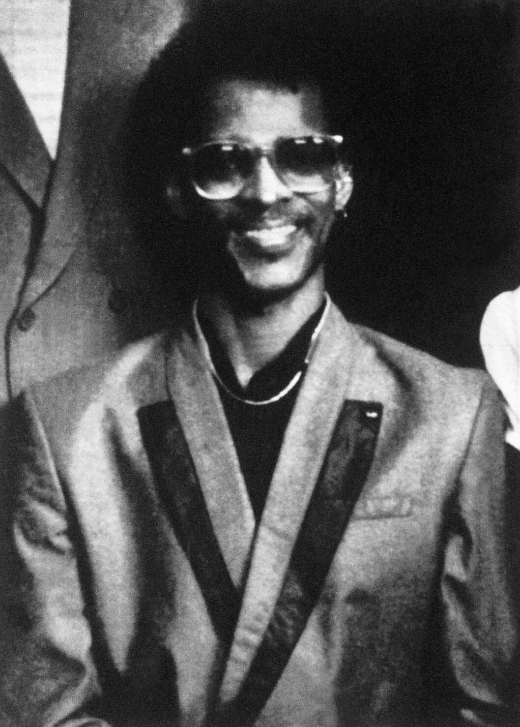 DREPT: Døvstumme Anthony Hughes ble drept 24. mai 1991. Han ble 31 år gammel. Foto: NTB Scanpix