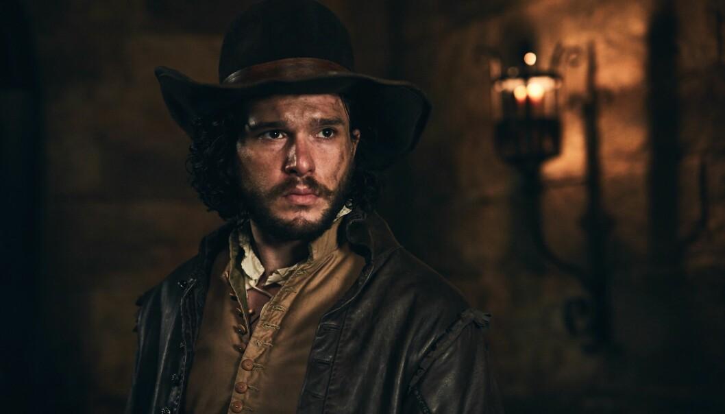 HOVEDROLLE: Kit Harington har hovedrollen i miniserien «Gunpowder» på BBC denne høsten. Foto: BBC