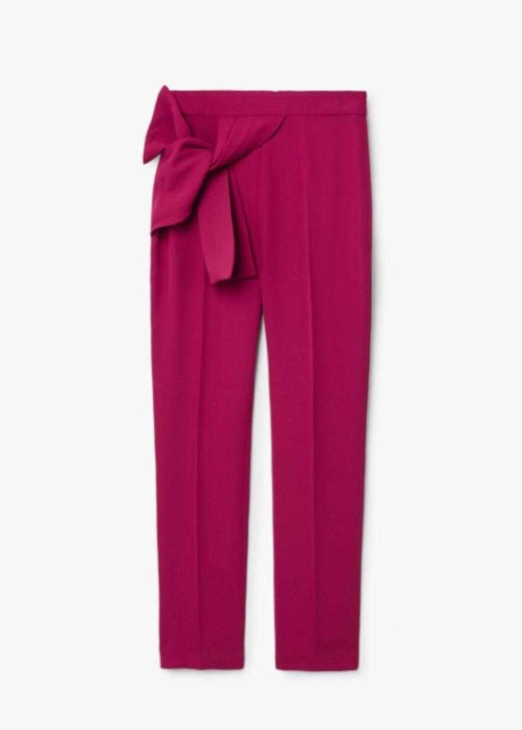 Bukse med sløyfe fra Mango |499,-