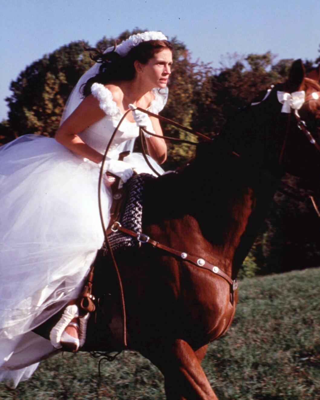 Julia Roberts i filmen «Runaway Bride».