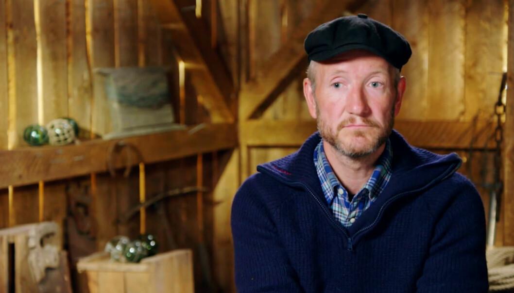 FØLER SEG UTSTØTT: «Farmen»-deltakeren Geir Magne Haukås (47) føler seg utstøtt fra gruppa. Foto: TV 2