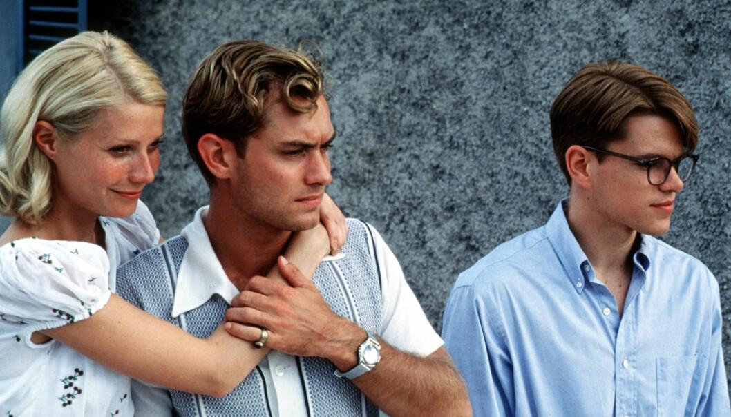 SPILTE SAMMEN: Gwyneth Paltrow spilte med blant andre Matt Damon og Jude Law Weinsteins selskap Miramax produksjon «Den talentfulle Mr Ripley» i 1999.