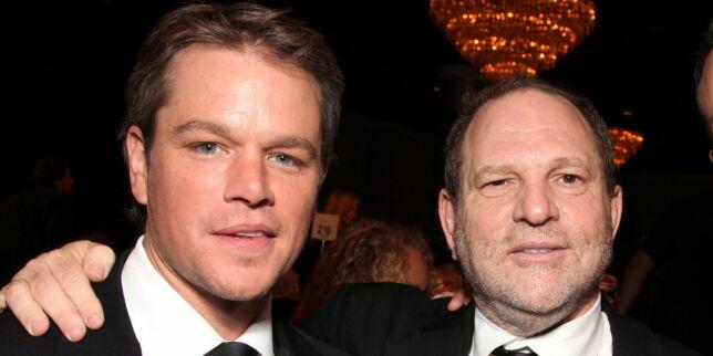 image: Matt Damon med sjokkavsløring: - Kjente til Weinsteins seksuelle trakassering