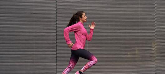 Får du vondt i ryggen når du løper?