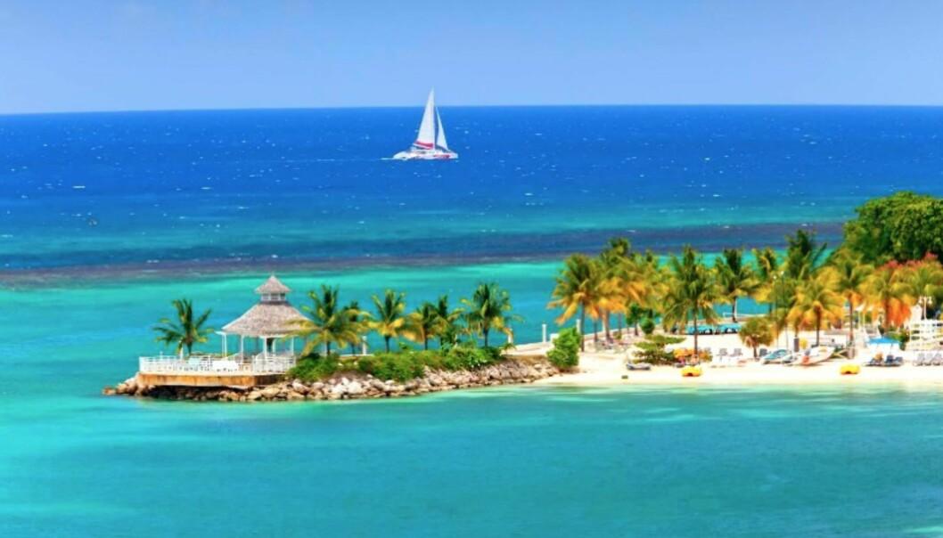 DRØMMESTRENDER: Noen av verdens beste strender finner du på Jamaica.