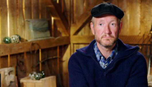 AMPER STEMNING: «Farmen»-deltakeren Geir Magne Haukås (47) satte ikke pris på at Eunike Haukås blottet seg for den religiøse gruppen. Han forteller at han respekterer henne, men at han sliter med å forstå valgene hennes. Foto: TV 2