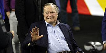image: George Bush senior (93) beklager seksuell berøring av kvinne