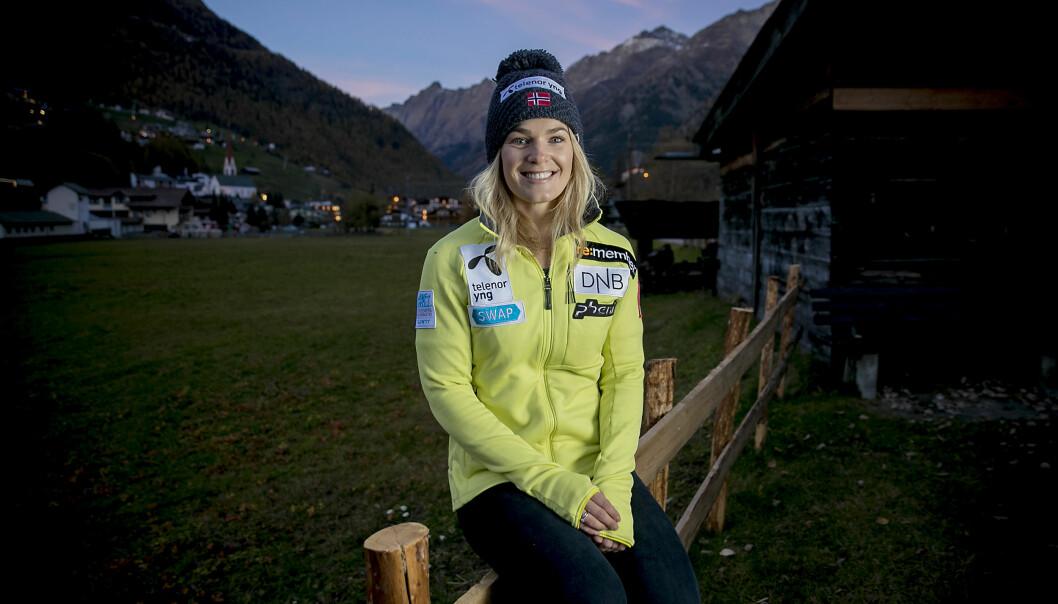 <strong>I GANG IGJEN:</strong> Nina Haver-Løseth og resten av alpinsirkuset tjuvstarter verdenscupsesongen i Østerrike denne helgen. Foto: Bjørn Langsem