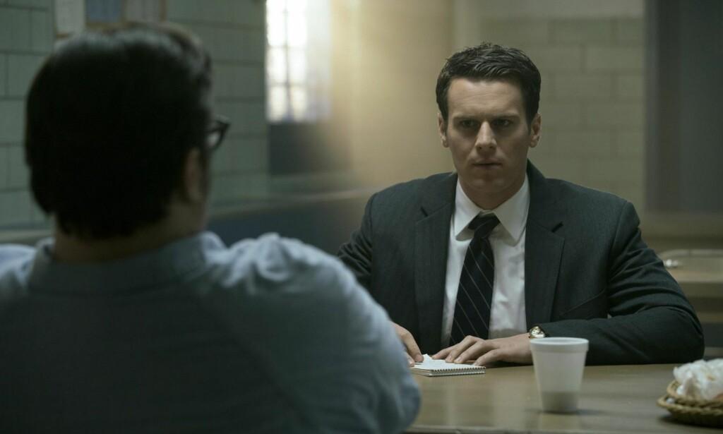 FBI-AGENT: Både Holden Ford og Jack Crawford i Thomas Harris' Hannibal Lecter-bøker er basert på FBIs John E. Douglas. FOTO: PATRICK HARBRON/NETFLIX