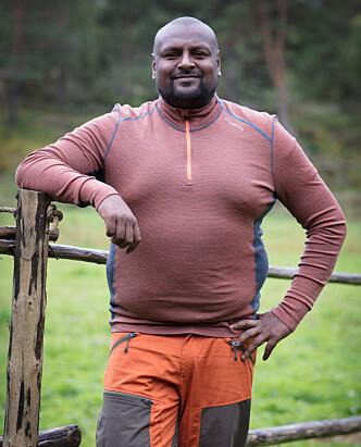 UTFORDRER: Hordalendingen Thomas Ravi Håland (39). Foto: Alex Iversen / TV 2